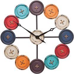 Wandklok Buttons - 80,5 cm - Kare Design